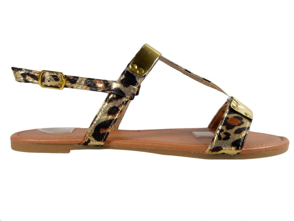 Flache Sommerschuhe für Camo-Sandalen für Damen - 1