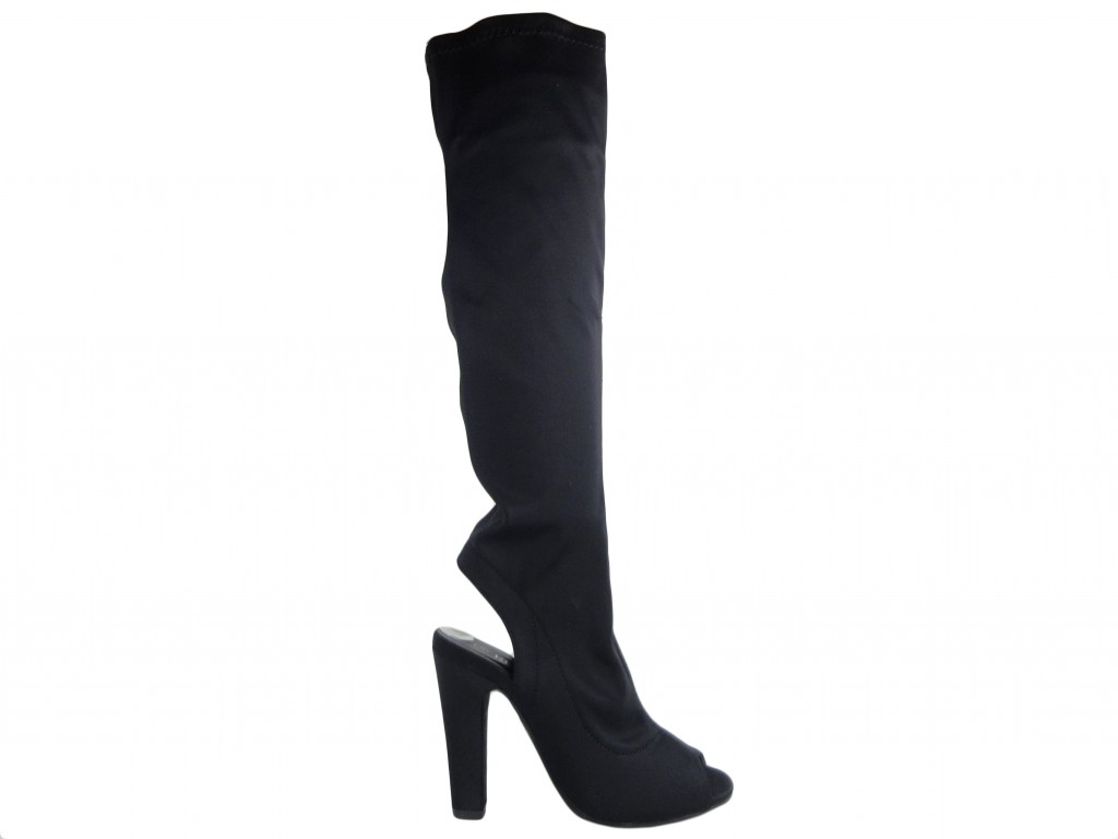 Women's boots for a stretch knee on a post - 1
