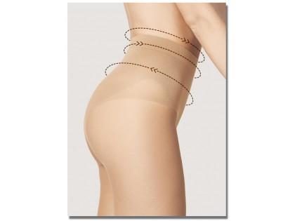 Rajstopy bikini delikatnie spłaszczające brzuch 20 den