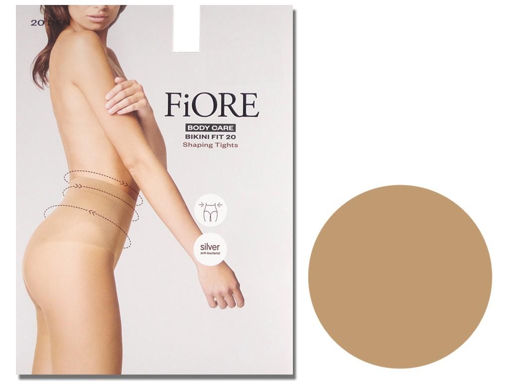 Bikini tights gently flattening the belly 20 den - 4