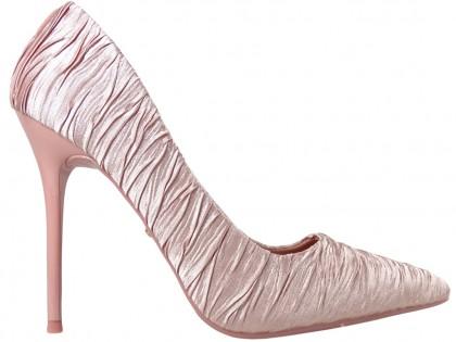 Pink pins ladies' wedding boots - 1