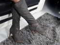 Tall ladies' boots on gray pins - 2