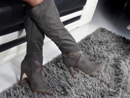 Női magas sarkú cipő - 2
