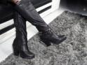 Black female cowgirls eco leather - 2