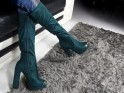 Ladies' boots on the pole suede boots - 2