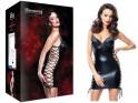 Black tight dress like leather erotic underwear - 3