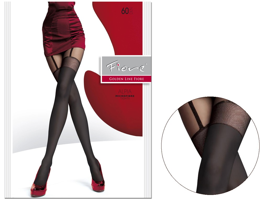 60 bottom tights like microfibre stockings ALPIA - 3
