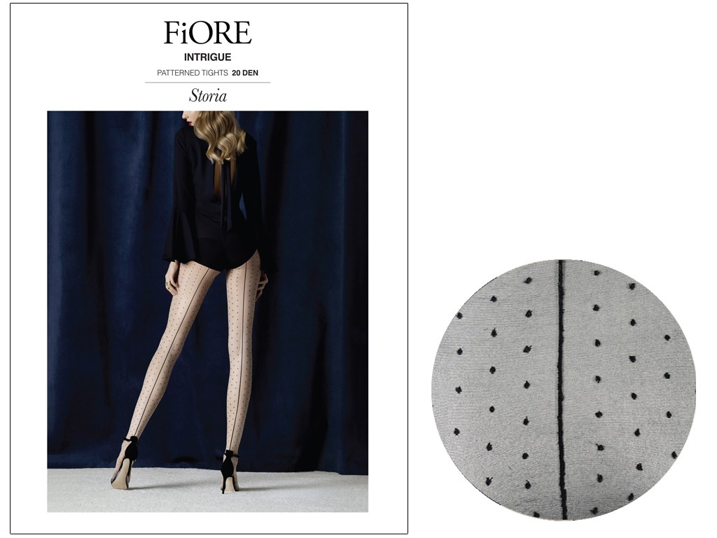 Suture and dotted 20den tights. - 4
