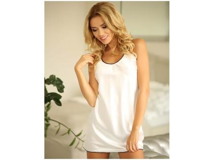 Ecru bielizna damska satynowa halka koszulka