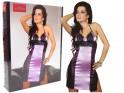 Lila lila erotisches Hemd mit Spitze - 6
