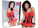 Sexy Dessous der roten Nachthemdfrauen - 4