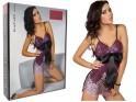 Rosa Spitzen Nachthemd Damenunterwäsche - 6