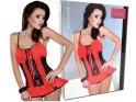Sexy Dessous der roten Nachthemdfrauen - 6