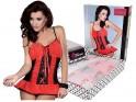 Sexy Dessous der roten Nachthemdfrauen - 5