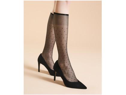 Dotted knee socks 20 den Fiore lingerie - 2
