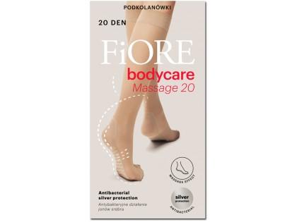 Knee socks 20 den Massage Fiore foot massage - 1