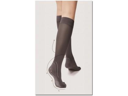 Knee socks 40 den Massage Fiore foot massage - 2