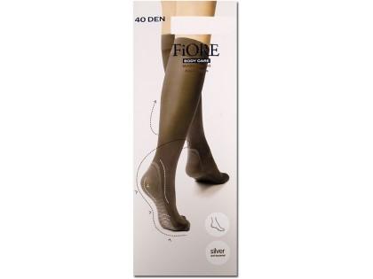 Knee socks 40 den Massage Fiore foot massage - 1