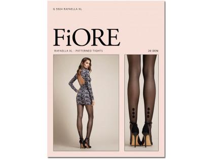 Glatte, matte Strumpfhose mit gepunktetem Knöchel für Frauen - 1
