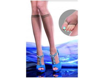 Fingerless knee socks uncovered 20den Fiore - 2