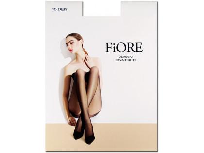 Smooth women's pantyhose Sava 15 den Fiore - 1