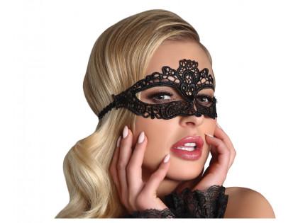 Black lace eye mask Livia Corsetti - 1