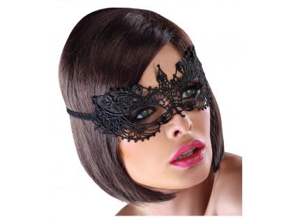Black ladies' erotic eye mask - 1