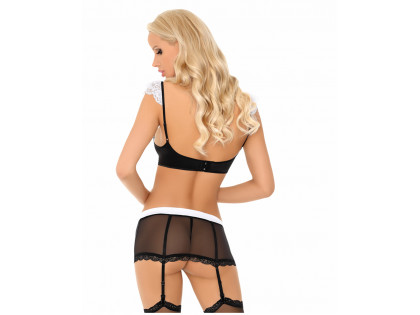 Dressing up as a maid, women's erotic underwear - 2