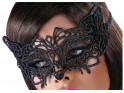 Eye mask black lace erotic underwear - 2