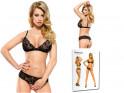 Black lace lingerie set - 4