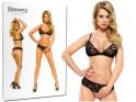 Black lace lingerie set - 3