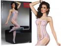 Violette Bodystocking-Damen-Erotik-Unterwäsche - 3