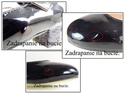 Outlet fekete szivattyúk öko bőr alacsony cipő - 2