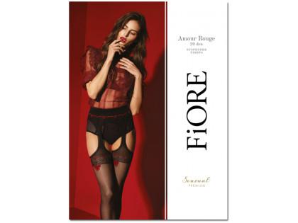Pończochy z pasem garter stocking wysoka jakość - 1