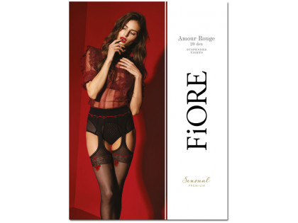 Stockings with garter stocking belt high quality - 1