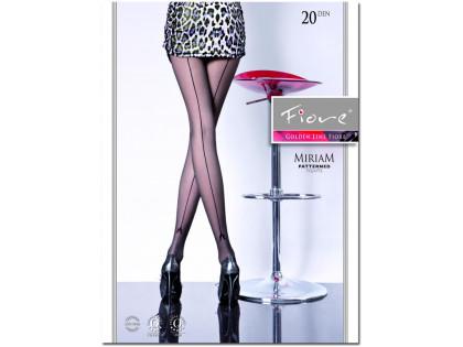 Glatte Damenstrumpfhose mit 20 den MIRIAM-Naht - 1