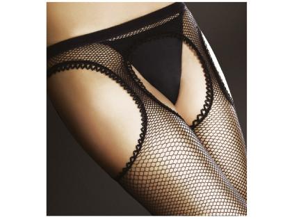 Cabaret-Strumpfhose mit einem Gürtel wie Strumpfhosen - 2