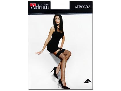 Pończochy damskie małe oczka Afronya Adrian - 1