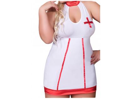 Nurse costume large size plus - 2
