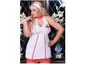 Krankenschwester Kostüm groß plus - 6
