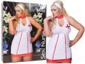 Krankenschwester Kostüm groß plus - 3