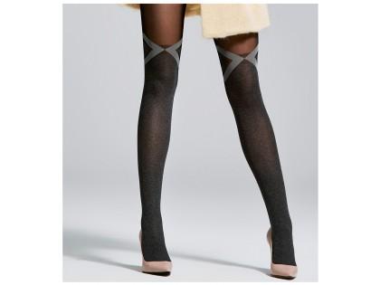 Pattern tights opaque matt 40den - 2