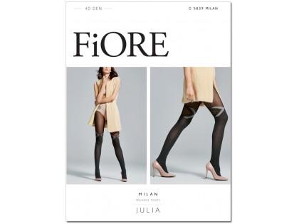 Pattern tights opaque matt 40den - 1