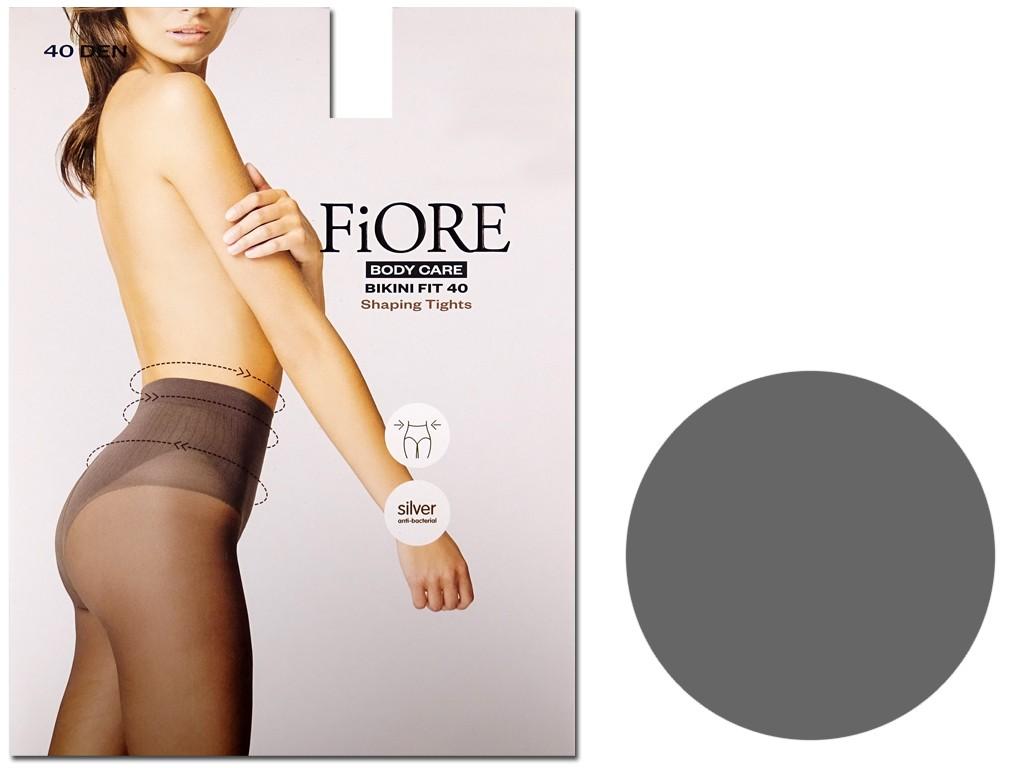 Bikini tights gently flattening the belly 40 den - 4