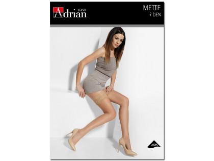 Vékony női 7 den Mette harisnya csipkével - 1