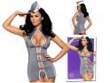 Dress up costume stewardess Obsessive erotic underwear - 4