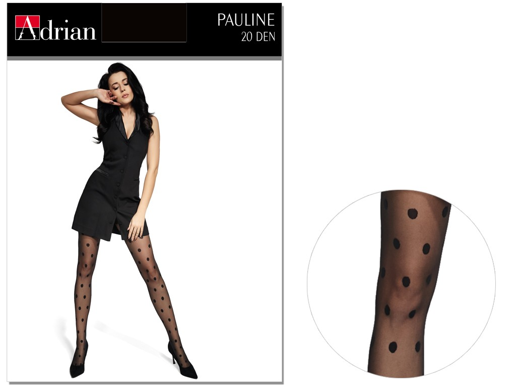 Dotted pea tights PAULINE 20den Adrian - 3