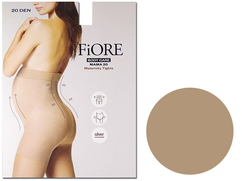 Microfibre maternity tights 20 den Fiore - 4