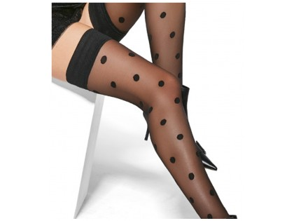 Dotted stockings 20den Adrian - 2