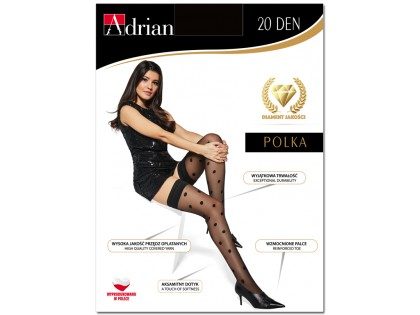 Dotted stockings 20den Adrian - 1